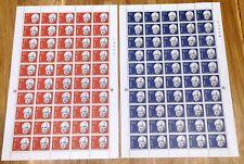 Norway Full Sheet 1961 Fridtjof Nansen - Complete Series - MNH