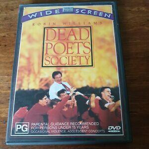 Dead Poets Society DVD R4 Like New! FREE POST