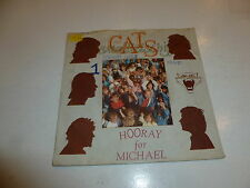 "CATS - Hooray for Michael - 1985 Dutch 2-track 7"" Juke Box Vinyl Single"
