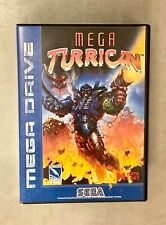 Mega Turrican | Sega Mega Drive | PAL | CIB | No Repro |Original in OVP