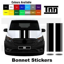 Bonnet Stripes Stickers for Mercedes VITO Vito Racing Vinyl Graphics Decals Merc