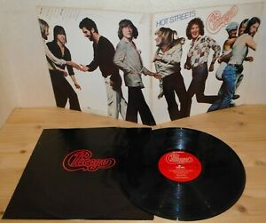 LP CHICAGO Hot streets (Columbia 78 USA) 1st ps jazz rock inner VG+