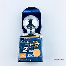 "REESE 2""CHROME 3/4 SHANK HITCH BALL 2-3/8 3500lb LENGTH CAP. 72805 FREE SHIPPING"