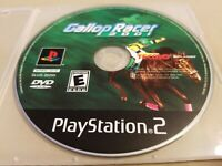 Sony PlayStation 2 PS2 Disc Only Tested Gallop Racer 2001