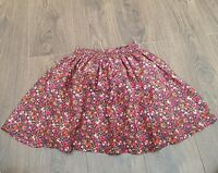 Next Short Skirt girls  Age 12 Years Navy Floral ( K)