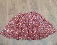 Next Short Skirt girls  Age 12 Years Navy Floral ( K)