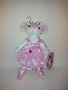 Sababa Toys Angelina Ballerina Stuffed Mouse Ballerina  - New - See Photos!