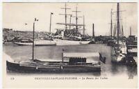 DEAUVILLE LA PLAGE FLEURIE - Yacht Basin - Normandy / France - c1910s postcard