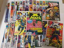 X-Men Comic Lot X-man 1-38 45-47 50 63-75 Annual 96 Flashback #1 NM BB