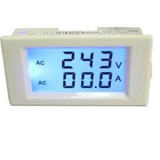 Amperometro LCD bianco digitale voltmetro con trasformatore di corrente AC
