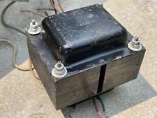 1962 WOODWARD SCHUMACHER Lowrey POWER Transformer P-6816 7591 12AX7