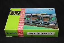 W414 POLA Train MaquetteHo B301 Gare pont de chargement  poutrelle diorama