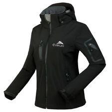 New Womens Waterproof Breathable Soft Shell Jackets Ladies Outdoor Hooded Coats
