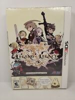Legend of Legacy Bundle (Nintendo 3DS, 2015) *NEW* Bonus CD & Art Book