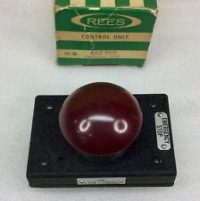 Rees 662 Red Heavy Duty Emergency Stop Pushbutton 600vacdc New In Box