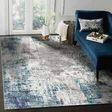 Bedroom Large Space Soft Rugs Contemporary Area Rug Abstract Indoor Beige Carpet