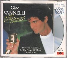 Gino Vannelli CD-Single Wild Horses (C) 1987 POLYDOR 6:20 min Remix