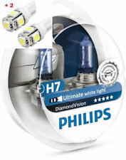 Philips Diamond Vision H7 Twin - 2 free LED T10/W5W