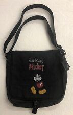 Vintage Mickey Mouse Cross Body Purse Messenger Bag Disneyland Paris