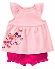 NWT Gymboree SUNSET GLOW Sz 12-18 M 2 Piece Butterfly Set NEW
