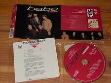 TAKE THAT - BABE / GERMANY 4 TRACK MAXI-CD 1993 MINT! & PROMO-INFO