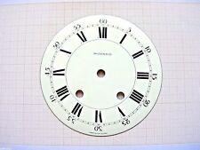 Cadran émail pendule MOVADO horloge horloger Uhr Clock Swiss made dial 151 mm