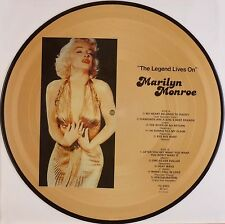 "12"" LP - Marilyn Monroe - The Legend Lives On - B500 - washed & cleaned"