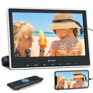 """10.1"""" HD Portable Car DVD Player Headrest TV Monitor LCD Screen HDMI AV IN/OUT"""