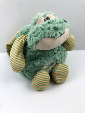 Demdaco Nat & Jules Foley Green Frog Plush Small Backpack Preschool Bag Nwt