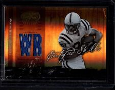 2004 DONRUSS MATERIALS MARVIN HARRISON COLTS JERSEY SERIAL #ed 6/25 CARD # CS-44