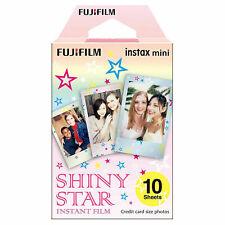1 Pack 10 Photos Shiny Star FujiFilm Fuji Instax Mini Film Polaroid SP-2 Liplay