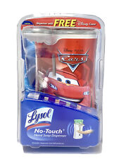 Disney Pixar Cars Lysol No-Touch Hand Soap Automatic Dispenser New Sealed