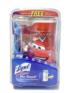 Disney Pixar Cars McQueen Lysol No-Touch Hand Soap Automatic Dispenser New