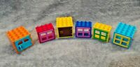 LEGO Duplo Set Of 6 Windows And Doors Bundle ** Free UK Delivery **