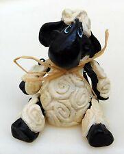 Vtg Sheep Lamb Shelf Sitter Jointed Figure Figurine K Kelly