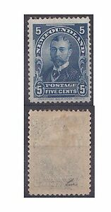 Newfoundland 1897 5c Blue (mm )SG 90