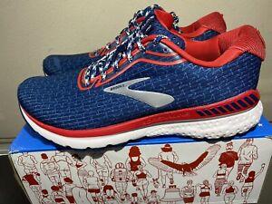 NEW Brooks Adrenaline GTS 20 Men's Sz 10 Run USA Old Glory Limited Running Shoes