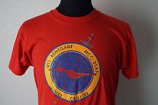 Vintage Rare Star Trek USS Renegade NCC-2547 Strike Cruiser T-Shirt Red Large