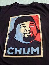"""Pawn Stars """"Chum"""" Chumlee Obama Hope Graphic T-Shirt Men Medium"""