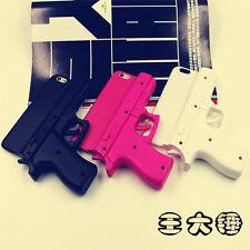 3D Fashion Creative Gun Shape Hard Phone Case Cover for iPhone 5 5S 6 6S Plus SE
