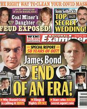 National Examiner October 26 2020 James Bond 007 Tom Selleck Barbara Eden
