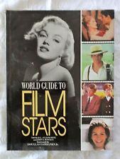 World Guide To Film Stars by Thomas G. Aylesworth and John S. Bowman | HC/DJ