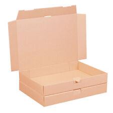 200 Maxibriefkartons 350 x 250 x 50 mm braun DIN A4+ B4 Warensendung Faltkarton