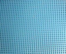 Darice 14 Conde de lona plástica azul claro - 21 X 27cm