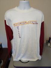 Mens FSU Florida State University Football XL X-Large Long Sleeve Shirt Champs