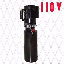 110V Car Lift Auto Repair Shop Hydraulic Power unit 110V 60HZ 1 PH Free Shipping