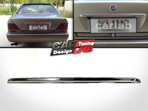 Chrome Rear Trunk lid molding fits 1991-1998 Mercedes Benz  W140 S Class EU Type