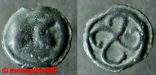 Gauloise ! Les Bituriges potin à la swastika dextrogyre et tête casquée à droite