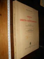 LIBRO -Vezio Crisafulli - Lezioni di diritto costituzionale - Cedam 1984