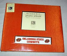 "NEW ORANGE OKLAHOMA STATE COWBOYS ACADEMIC PHOTO ALBUM 3 1/2"" X 5"" & 4"" X 6"""
